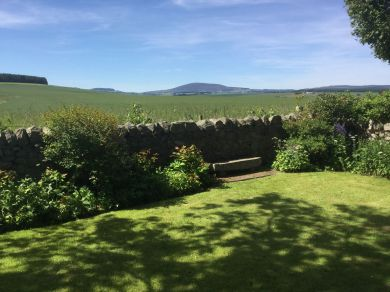 Brandon Lodge - view from the gardens.